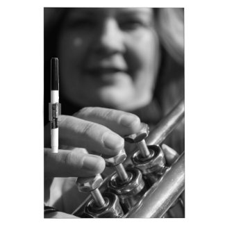 Trumpet Love Dry-Erase Board