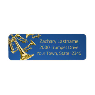 Trumpet Mania Gold and Blue Label