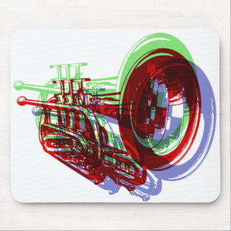 TRUMPET MOUSE PAD