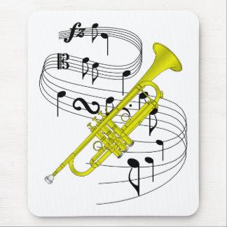 Trumpet Mouse Pad