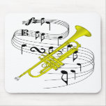Trumpet Mouse Pads