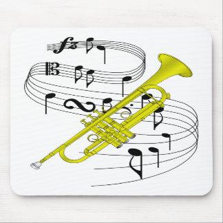 Trumpet Mouse Pads