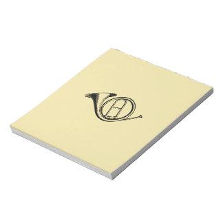 Trumpet & Music Love Notepad