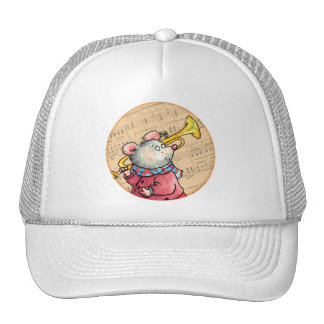 Trumpet Music Mouse - cap Trucker Hat