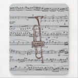 Trumpet Music Mouse Pad