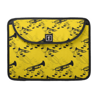 Trumpet Music Notes MacBook Pro Sleeve