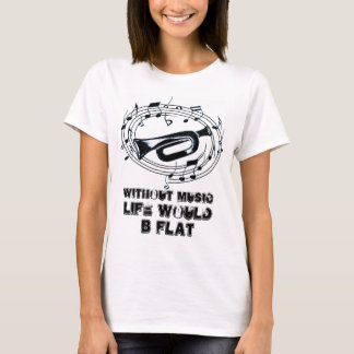 Trumpet Music Notes T-Shirt