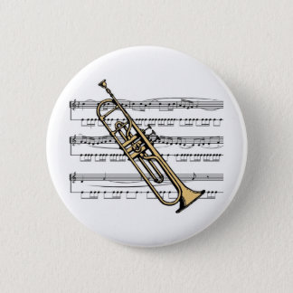 Trumpet musical 11 B Button