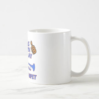 trumpet Musical designs Classic White Coffee Mug