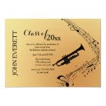 Trumpet Musical Instrument Invitation