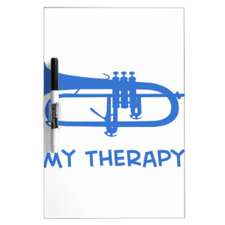 Trumpet my therapy dry erase boards