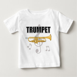 Trumpet Notes Baby T-Shirt