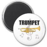 Trumpet Notes Magnet
