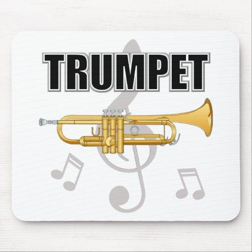 Trumpet Notes Mousepad