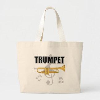 Trumpet Notes Tote Bag