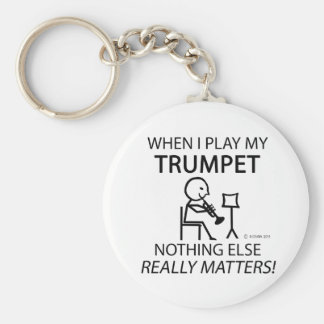 Trumpet Nothing Else Matters Keychain