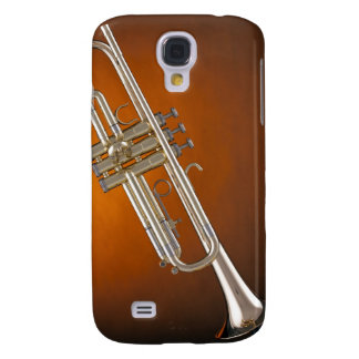 Trumpet on Gold Galaxy S4 Cover