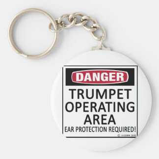 Trumpet Operating Area Keychain