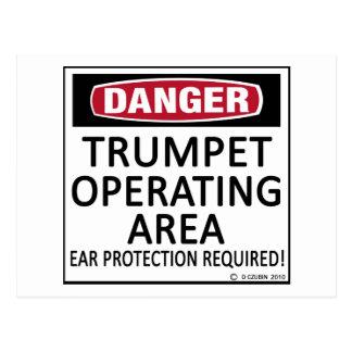 Trumpet Operating Area Postcard