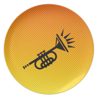 Trumpet Party Plate