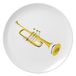 Trumpet Plate