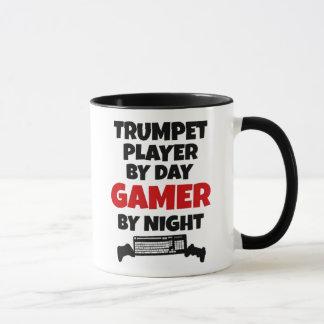 Trumpet Player by Day Gamer by Night Mug