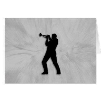 Trumpet Player Card