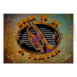 Trumpet Player Card