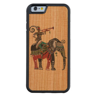 Trumpet Player Carved® Cherry iPhone 6 Bumper