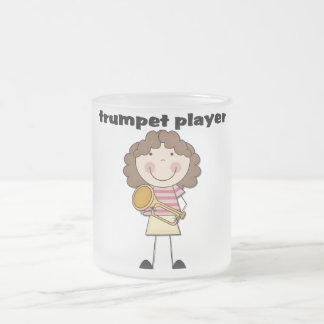 Trumpet Player - Female Tshirts and Gifts 10 Oz Frosted Glass Coffee Mug