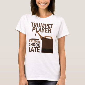 Trumpet Player (Funny) Chocolate T-Shirt