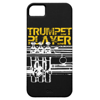 Trumpet Player iPhone Case iPhone 5 Cases