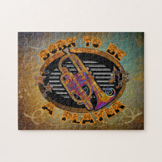Trumpet Player Jigsaw Puzzle