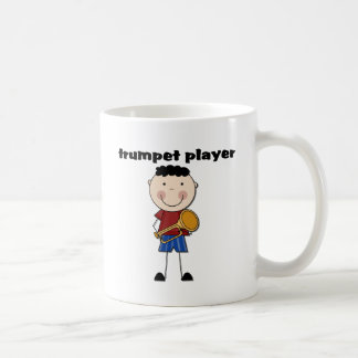 Trumpet Player - Male Tshirts and Gifts Classic White Coffee Mug