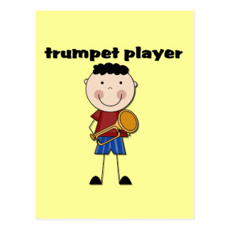 Trumpet Player - Male Tshirts and Gifts Postcard