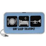 trumpet player mini speakers