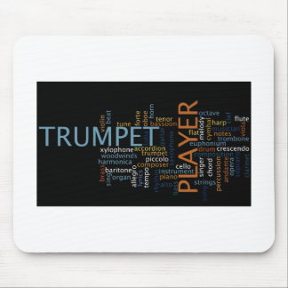 """Trumpet Player"" Mouse Pad"