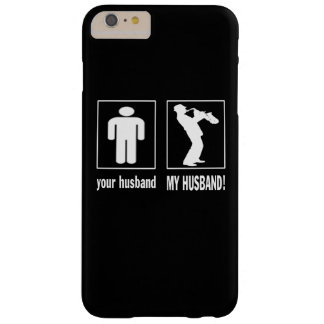 TRUMPET PLAYER - MY HUSBAND BARELY THERE iPhone 6 PLUS CASE