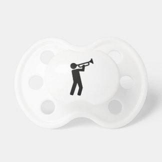 Trumpet player pacifier