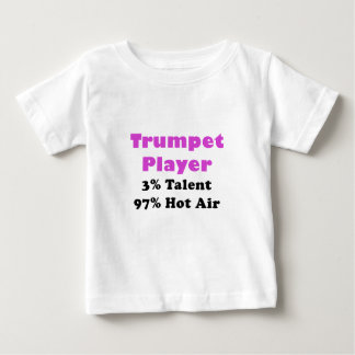 Trumpet Player Talent and Hot Air Baby T-Shirt