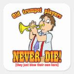 Trumpet Players Square Sticker