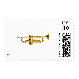 Trumpet Postage Stamp