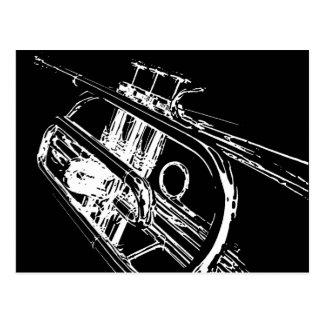 Trumpet Postcard