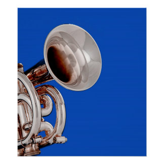 Trumpet Poster Picture of a Trumpet