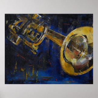 Trumpet Print