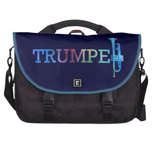 Trumpet Rainbow Commuter Bags