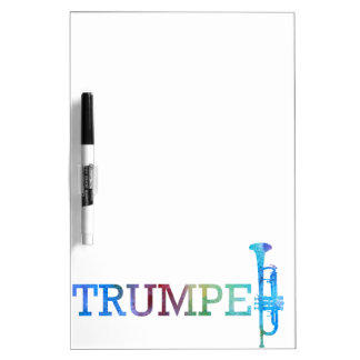 Trumpet Rainbow Dry-Erase Whiteboards