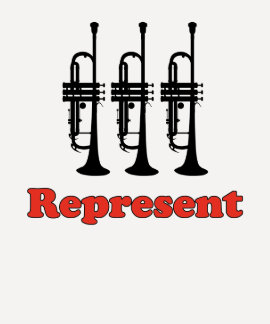 Trumpet Represent Tee Shirt