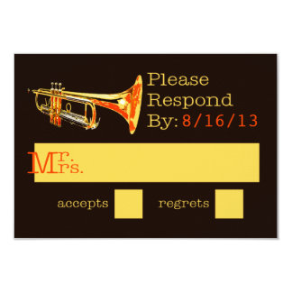 Trumpet Response Card