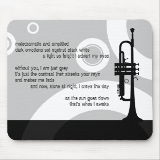 trumpet rings : cave dweller mouse pad